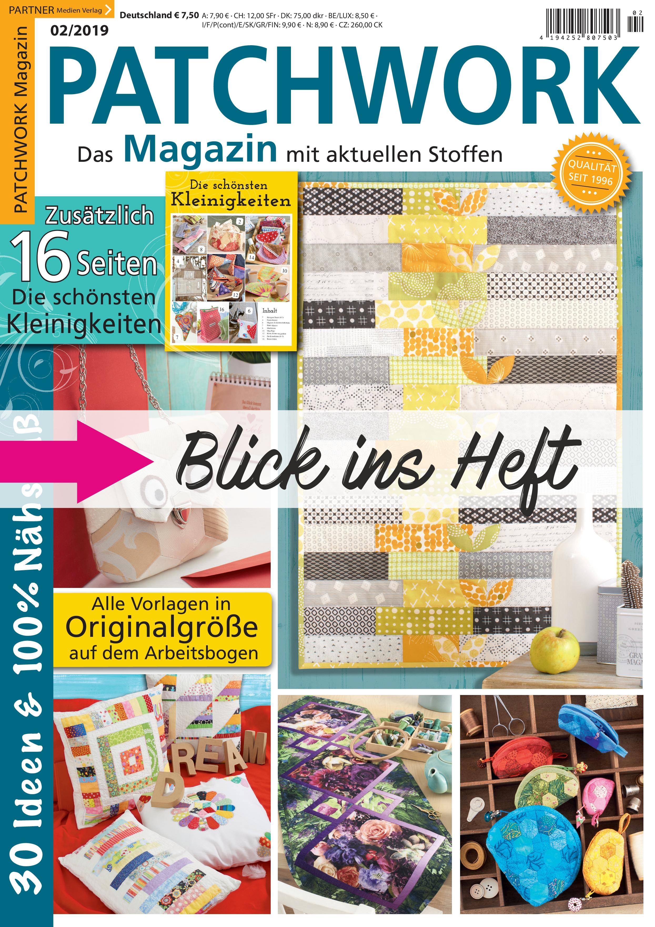 Partner Medien Verlag Patchwork Magazin