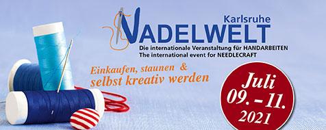 Banner: Nadelwelt Karlsruhe