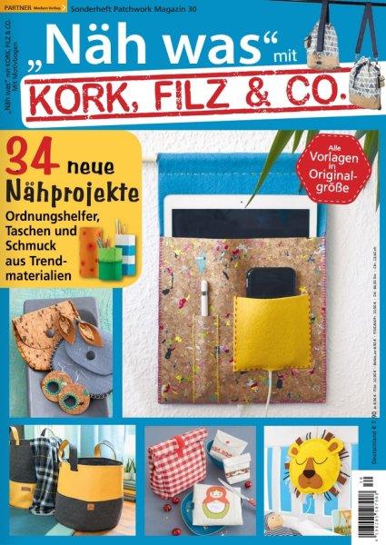 Näh was mit Kork, Filz & Co. - Patchwork Magazin Sonderheft 30/2020
