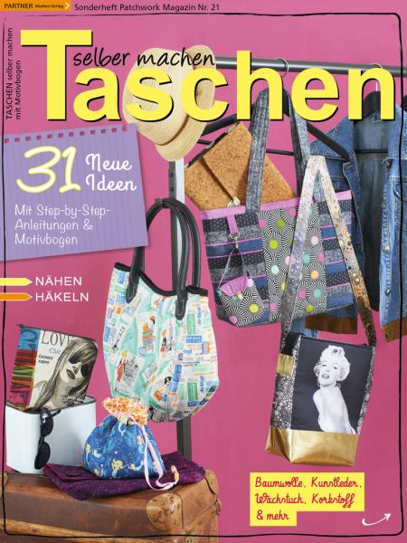 Taschen selber machen - Patchwork Magazin Sonderheft 21/2018