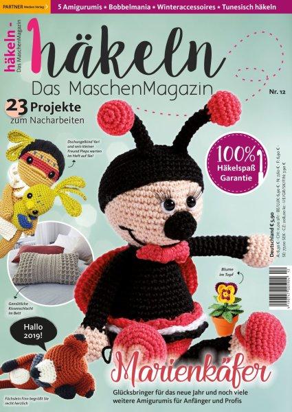 Häkeln-das Maschenmagazin 12/2019 - Marienkäfer