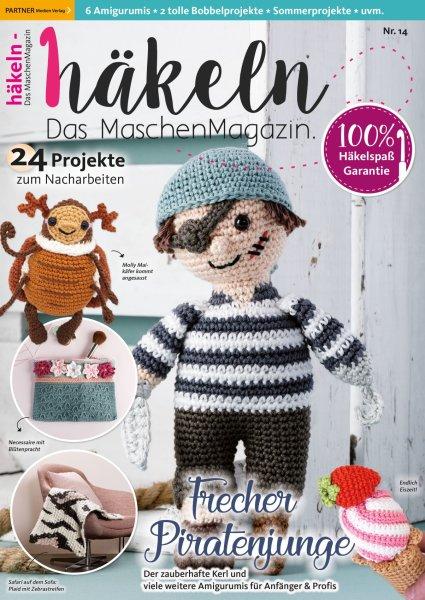 Häkeln-das Maschenmagazin 14/2019 - Frecher Piratenjunge