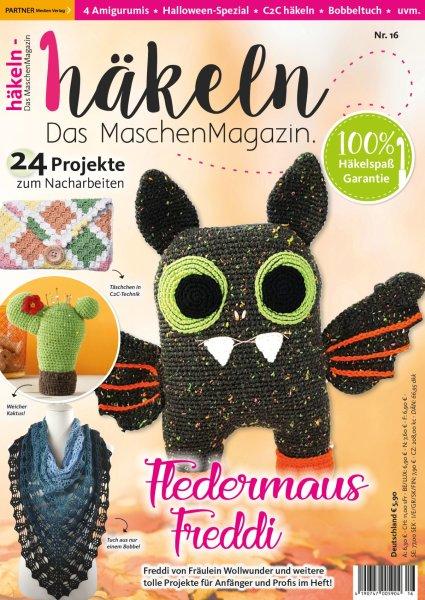 Häkeln-das Maschenmagazin 16/2019 - Fledermaus Freddi