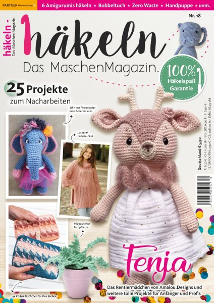 Häkeln-das Maschenmagazin 18/2020 - Rentiermädchen Fenja