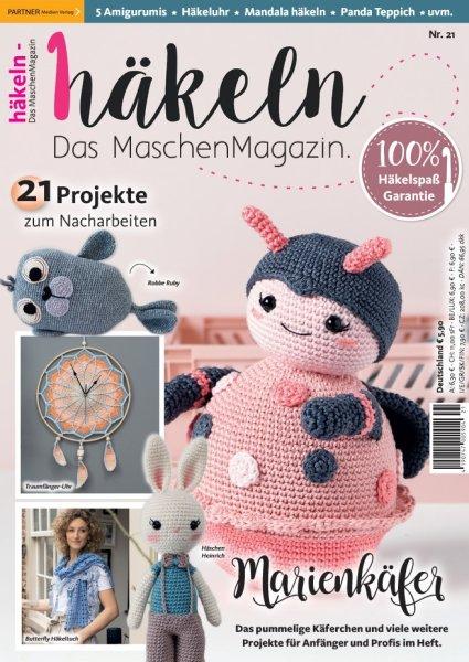 Häkeln-das Maschenmagazin 21/2020 - Marienkäfer