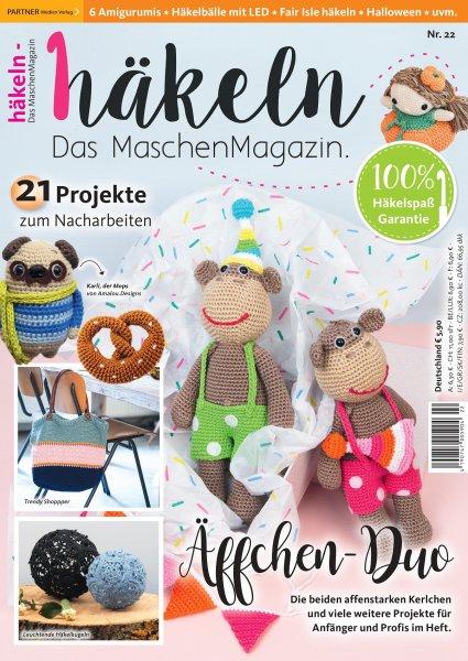 Häkeln-das Maschenmagazin 22/2020 - Äffchen-Duo