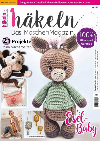 Häkeln-das Maschenmagazin 28/2021 - Esel-Baby