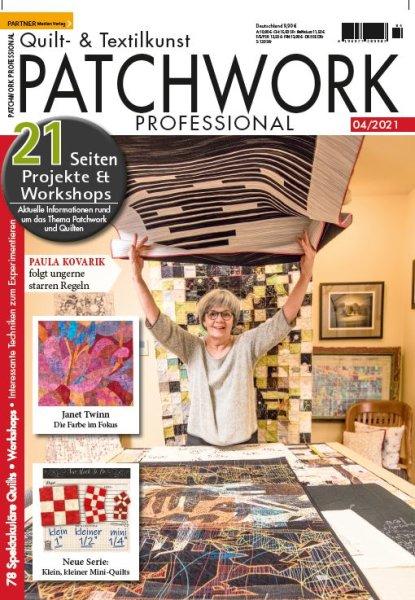 Patchwork Professional 4/2021 Printausgabe oder E-Paper