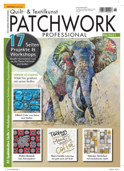 Patchwork Professional 6/2021 Printausgabe oder E-Paper