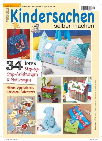 Kindersachen selber machen - Patchwork Magazin Sonderheft 29/2020 Printausgabe oder E-Paper