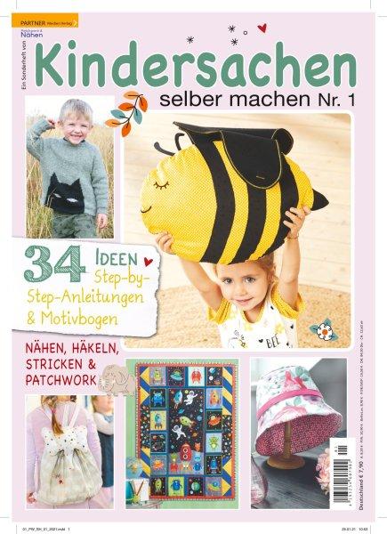 Kindersachen selber machen - Patchwork & Nähen Sonderheft 01/2021 Printausgabe oder E-Paper