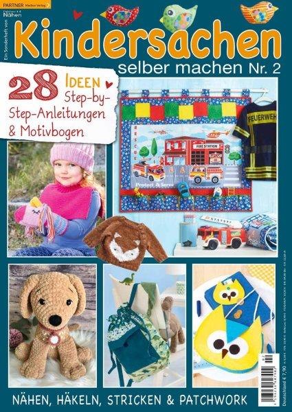 Kindersachen selber machen - Patchwork & Nähen Sonderheft 02/2021 Printausgabe oder E-Paper