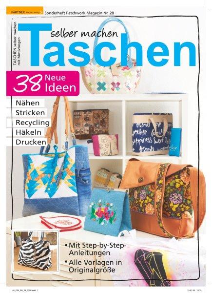 Taschen selber machen - Patchwork Magazin Sonderheft 28/2020 Printausgabe oder E-Paper