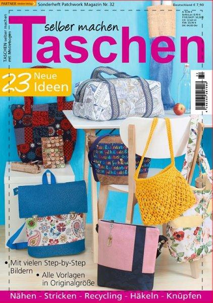 Taschen selber machen - Patchwork Magazin Sonderheft 32/2021 Printausgabe oder E-Paper