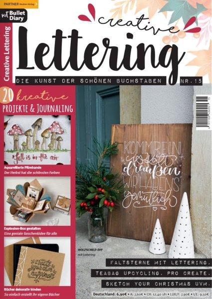 Creative Lettering 15/2021 Printausgabe oder E-Paper