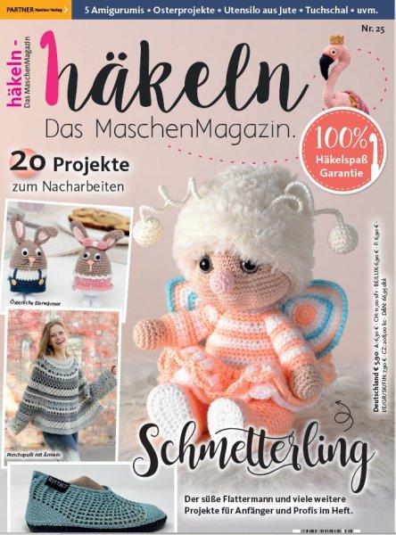 Häkeln-das Maschenmagazin 25/2021 - Schmetterling Printausgabe oder E-Paper