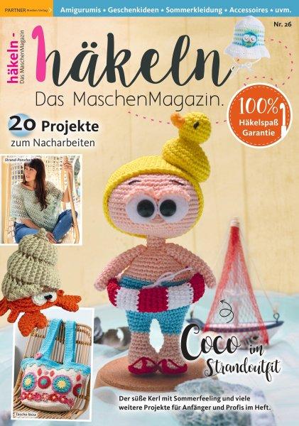Häkeln-das Maschenmagazin 26/2021 - COCO im Strandoutfit Printausgabe oder E-Paper