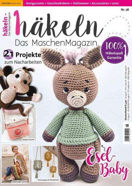 Häkeln-das Maschenmagazin 28/2021 - Esel-Baby Printausgabe oder E-Paper