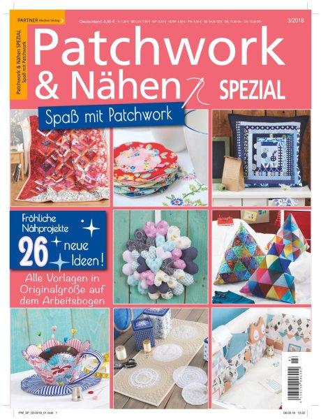 Patchwork und Nähen 3/2018 - Spaß mit Patchwork