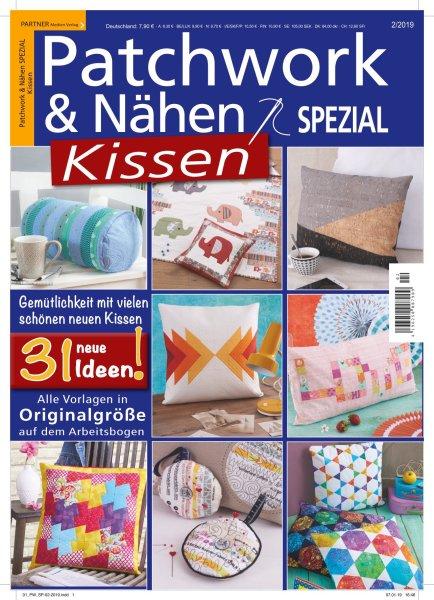 Patchwork und Nähen 2/2019 - Kissen