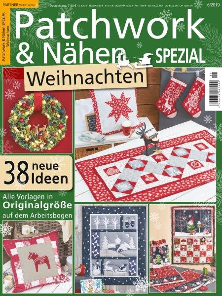 Patchwork und Nähen 6/2019 - Weihnachten