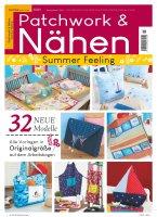 Patchwork und Nähen 3/2021 -Summer Feeling Printausgabe